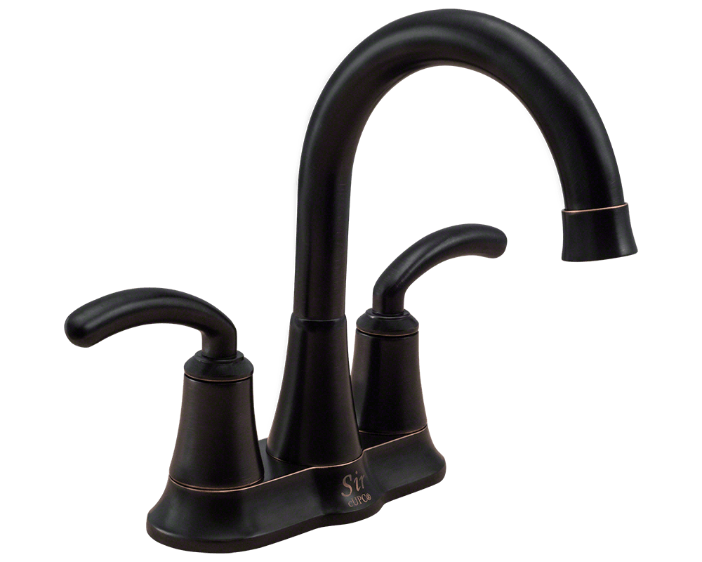 7042-ABR Antique Bronze Two Handle Lavatory Faucet