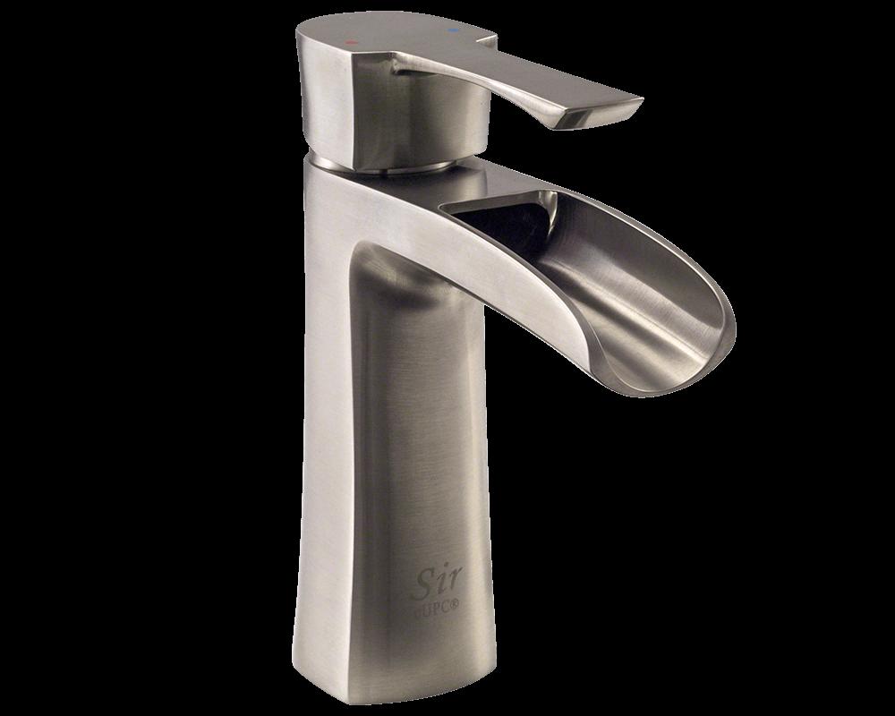 732-BN Brushed Nickel Single Handle Vessel Faucet