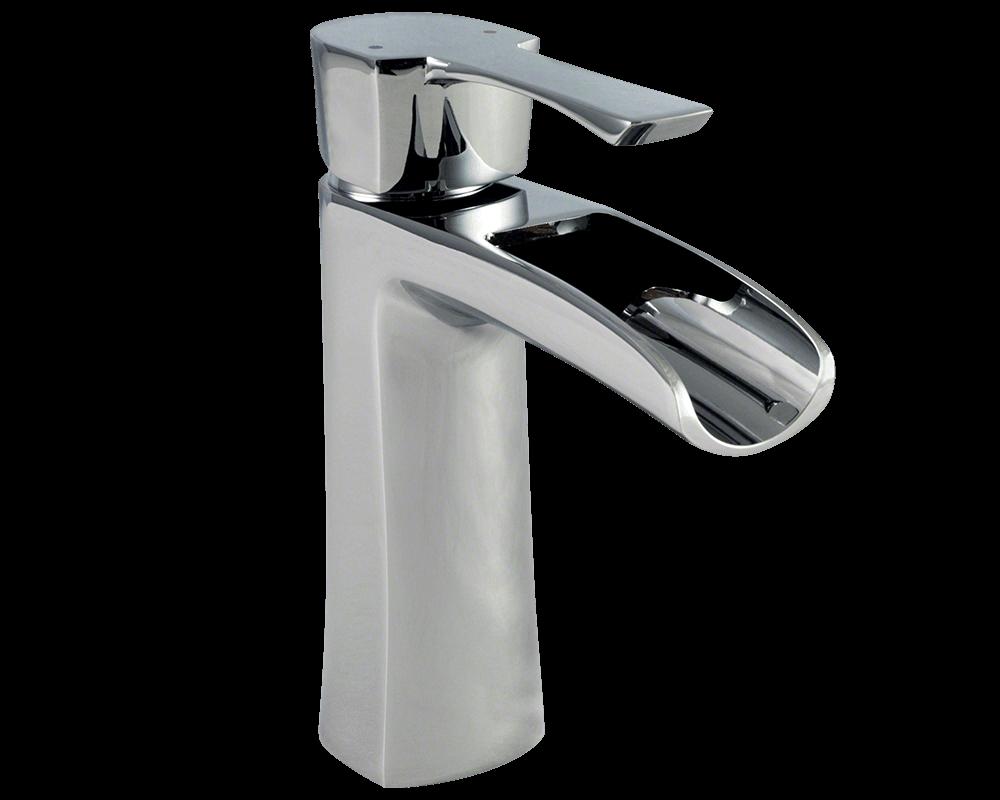 732-C Chrome Single Handle Vessel Faucet