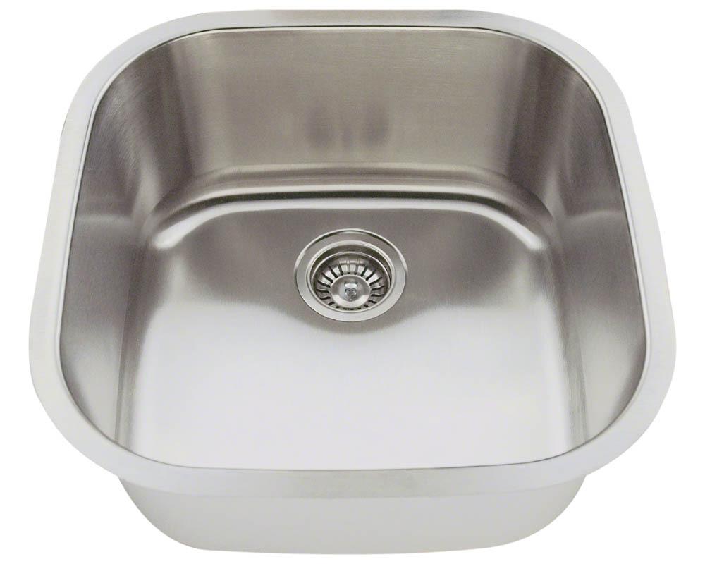 Polaris P0202-16 Stainless Steel Bar Sink