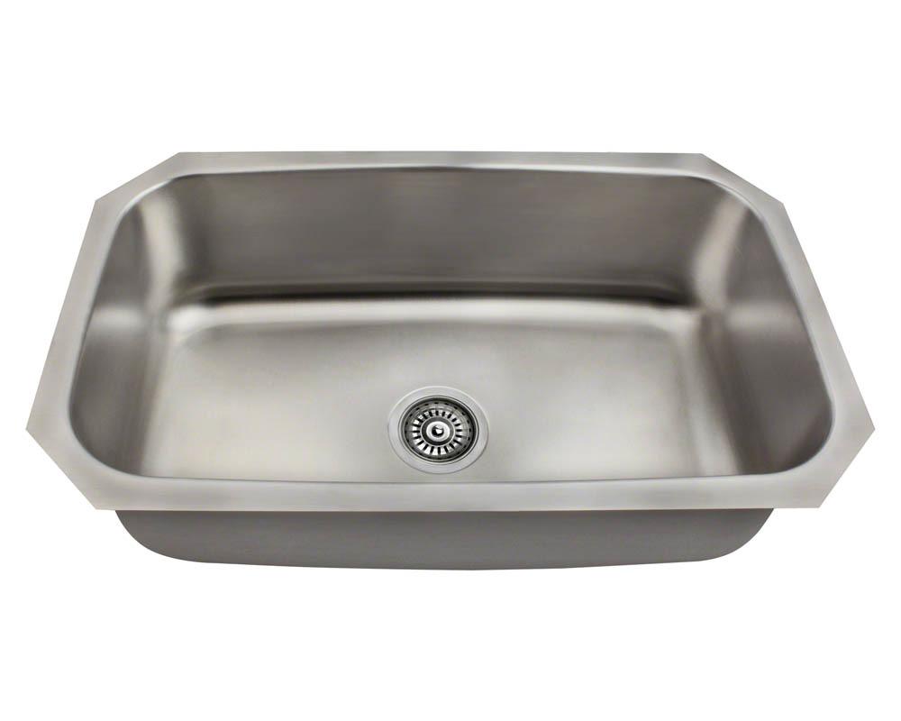 Polaris P0301US Stainless Steel Kitchen Sink