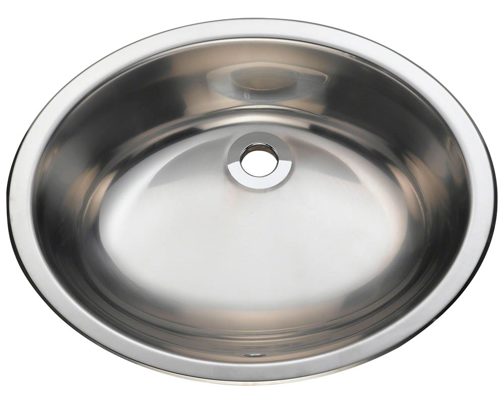 Polaris P7191 Stainless Steel Vanity Sink