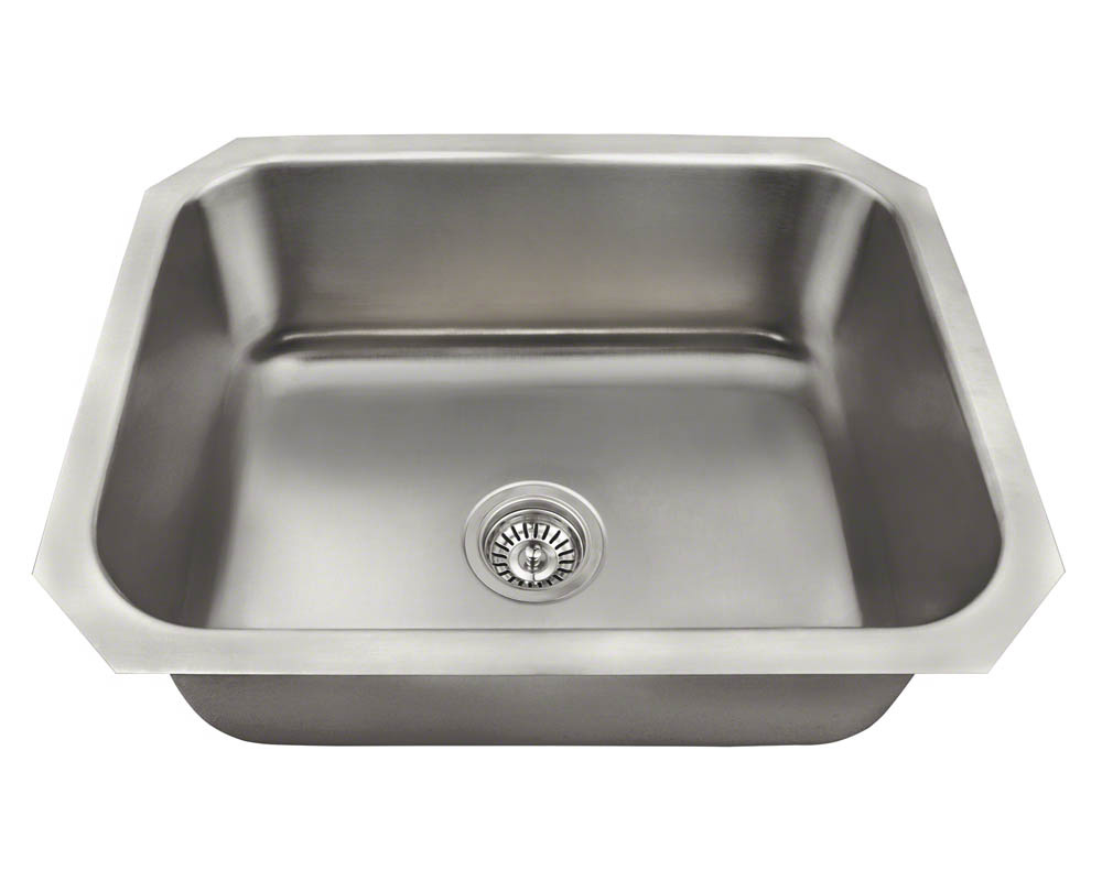Polaris P8301US Single Bowl Stainless Steel Kitchen Sink