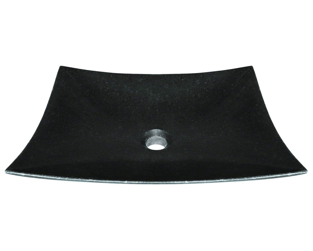 Polaris P068 Honed Basalt Vessel Sink