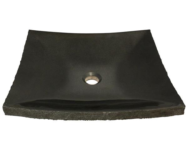 Polaris P558 Shanxi Black Granite Vessel Sink