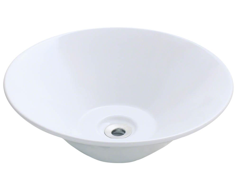 V220-White Porcelain Vessel Sink eBay