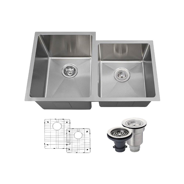 The Polaris PL0213 18 Gauge Kitchen Ensemble