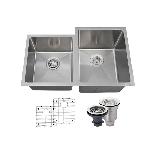 The Polaris PR0213 18 Gauge Kitchen Ensemble