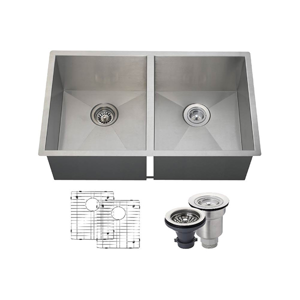The Polaris PD2233 16 Gauge Kitchen Ensemble