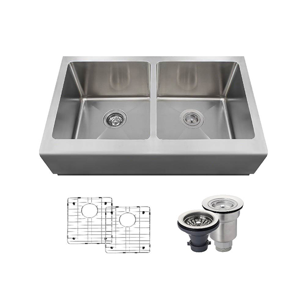 The Polaris P604 16 Gauge Kitchen Ensemble