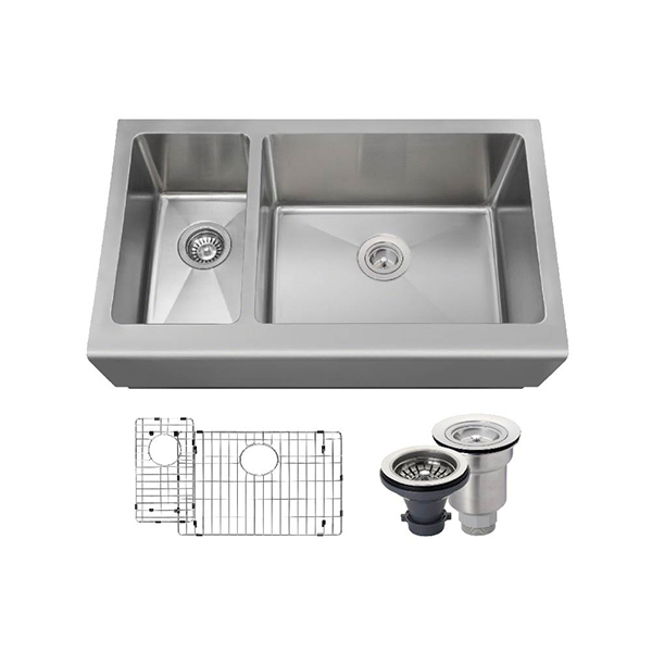 The Polaris PR704 16 Gauge Kitchen Ensemble