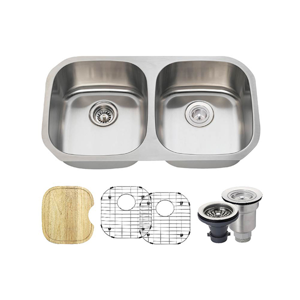 The Polaris P205 16 Gauge Kitchen Ensemble