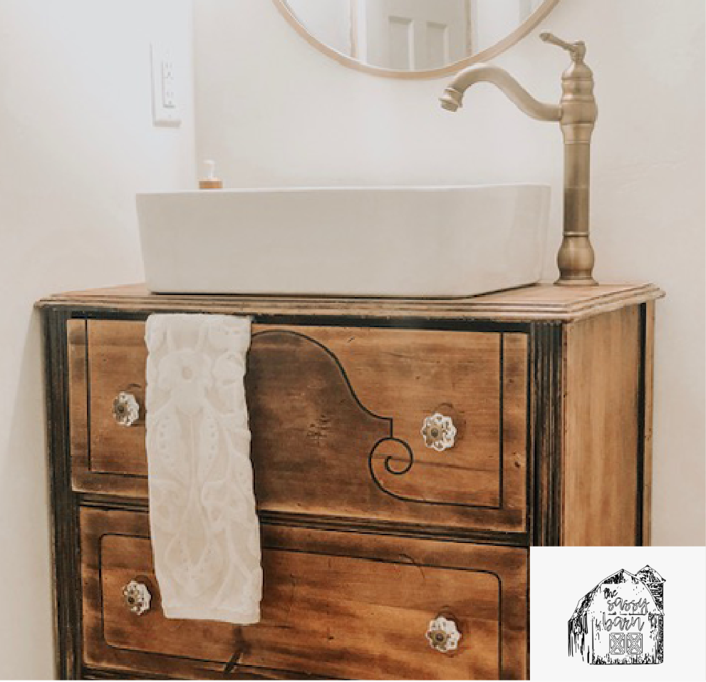 Bathroom Reveal: Ashlee Keene of The Sassy Barn Boutique