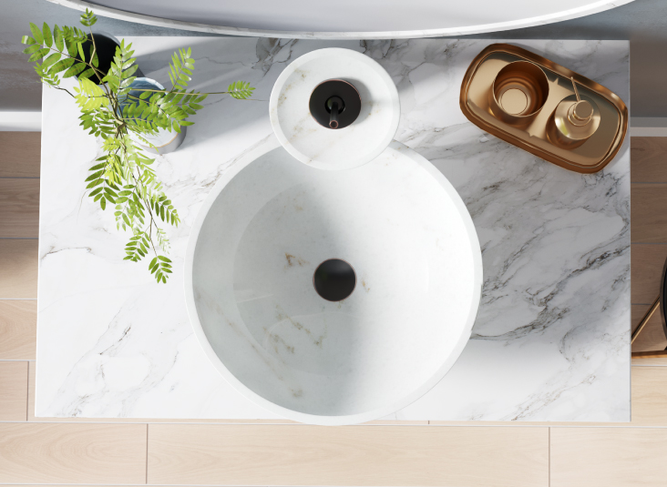 Nice Maintaining Your Stone Vessel Sink