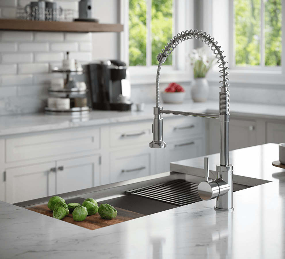 MR Direct's New Workstation Sinks Could Double Your Kitchen Workspace