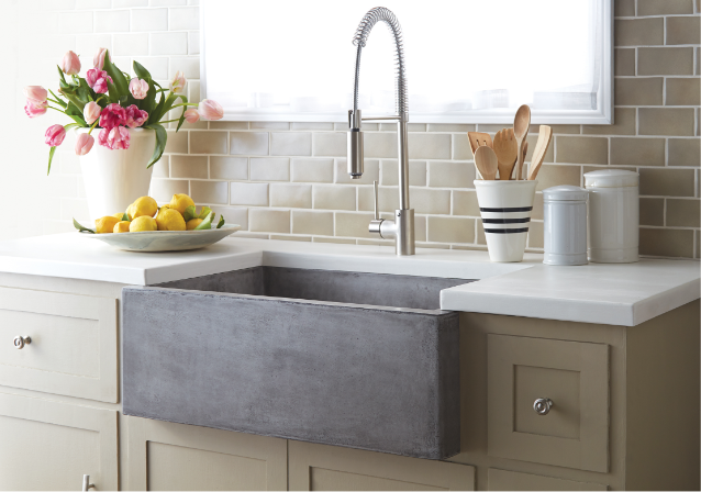 The Advantages of Choosing a Concrete Sink