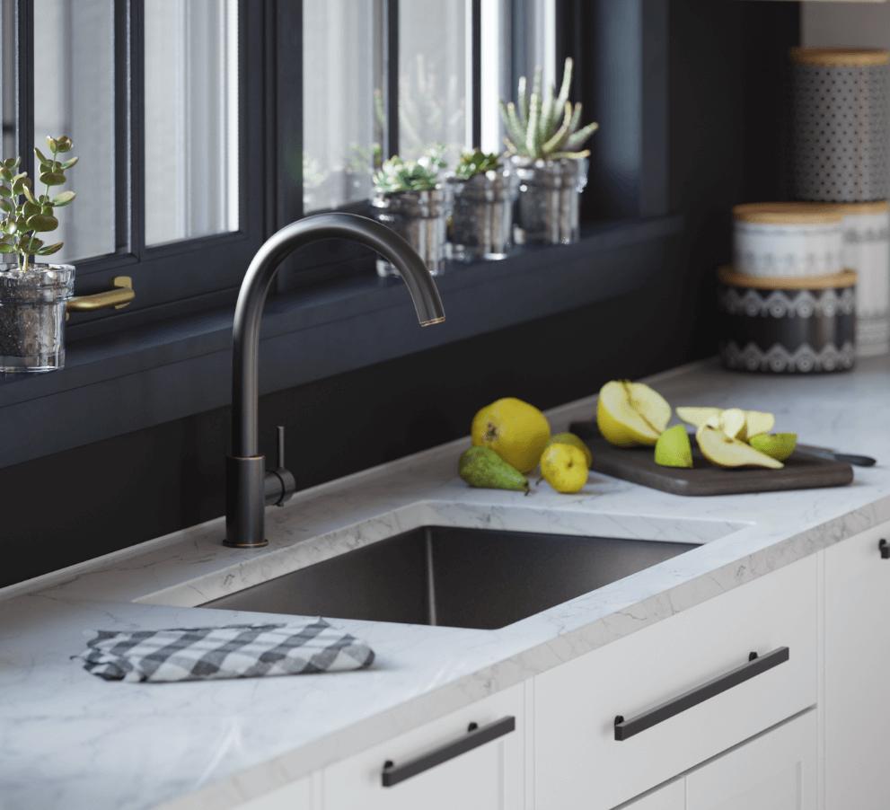 Undermount Sink Reveals: Positive, Negative, and Zero Reveals Explained