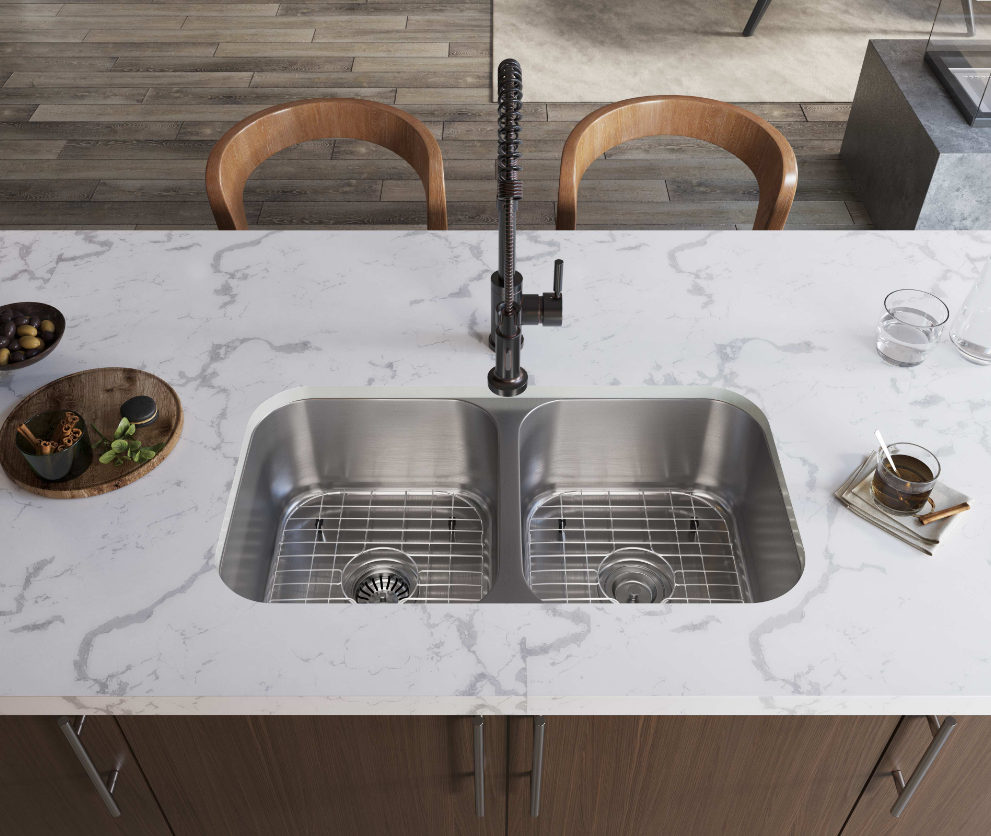 MR Direct is now offering an innovative product, SinkLink, which gives you the option to mount an undermount sink in a laminate countertop.