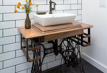 8 Incredible Upcycled Bathroom Vanities