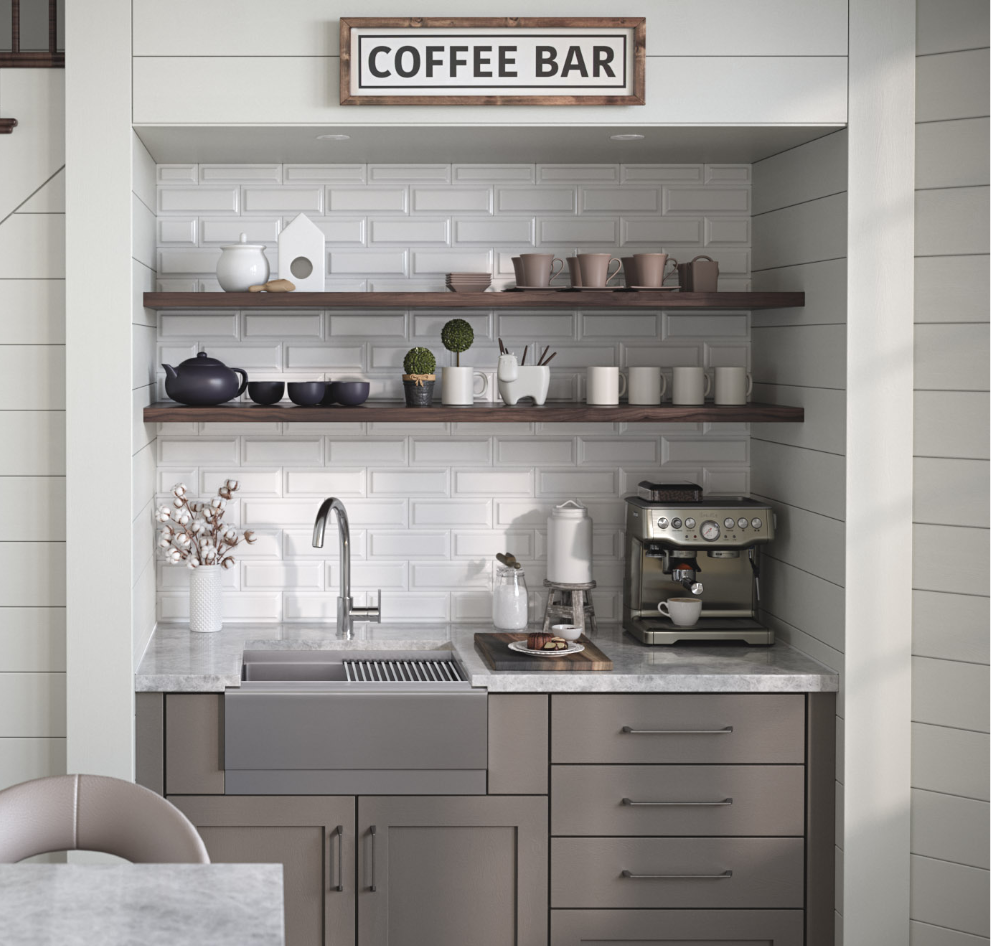 Creating A Cozy And Practical Coffee Nook