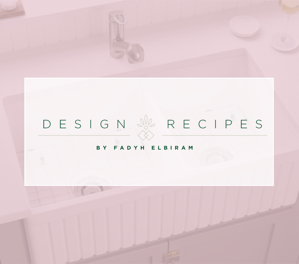 Interior design recipes by Fadyh Elbiram.