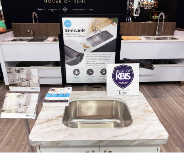 Best of KBIS Finalist for MR Direct's newest product, SinkLink!