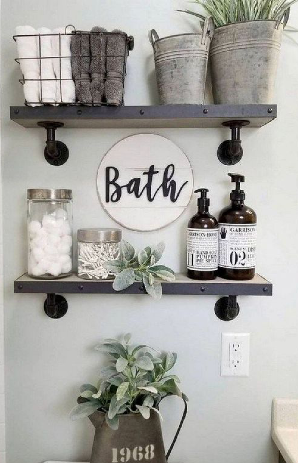 Prepare your guest bathroom with the essentials.