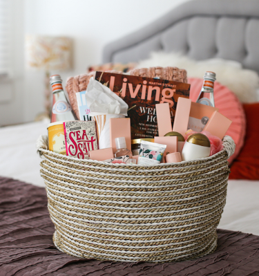 Go the extra mile by proving a welcoming goody basket for your out of town guests.