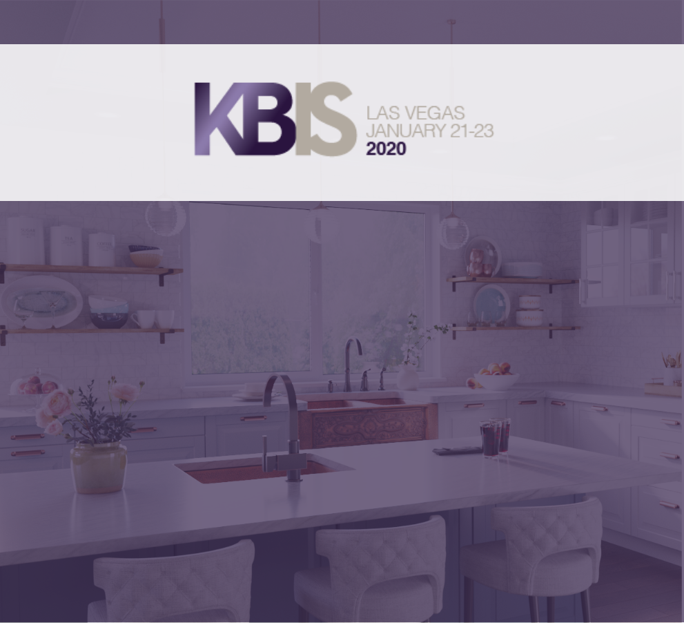 Trends to look for at Kitchen and Bath Industry Show in Las Vegas that is from January 21st-23st.