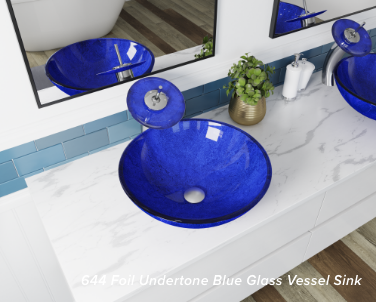 Trends are shifting towards double vessel sinks, which saves space in your bathroom.