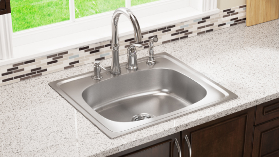 Our stainless steel sinks offer many advantages.