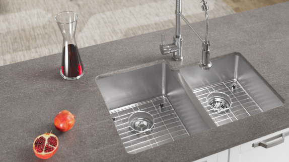 Our 18G undermount sinks will match any home