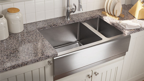 Apron Sinks Feature an Exposed Front-Facing Surface