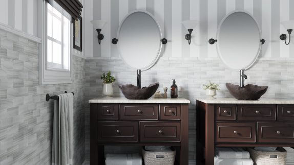 Our vessel style sinks come in a variety of shapes, sizes and materials to match any bathroom decor.