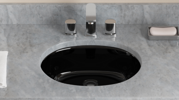 A classic color for any room, MR Direct offers black sinks to draw attention to your bathroom