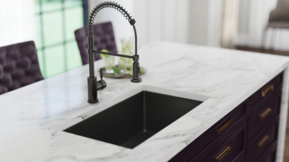 Black Undermount Kitchen Sinks