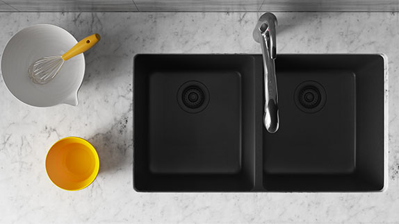 Our Trugranite Sinks are the Perfect Combination of Beauty and Durability