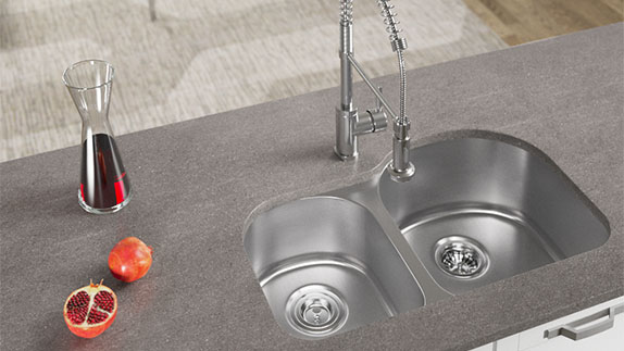 All MR Direct Stainless Steel Sinks are made from high grade steel.
