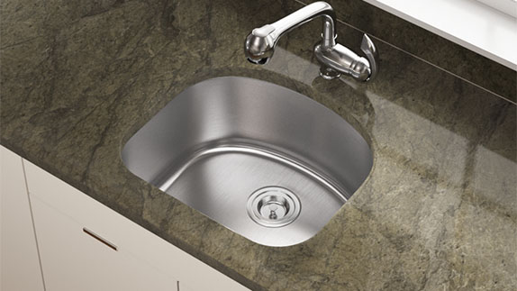 Our D-Bowl sinks are simple to care for.