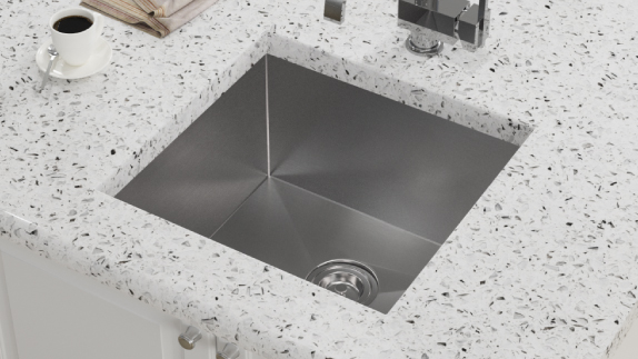 The 2321S 16 gauge utlility sink oders extra workspace for any home