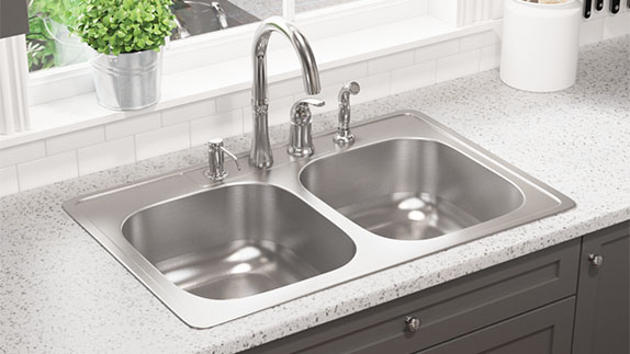 MR Direct stainless steel sinks come in a varity of mounts and styles.