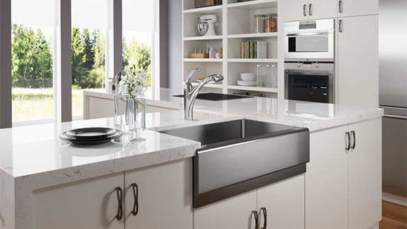 All MR Direct stainless steel sinks are made from high quality, high grade steel.