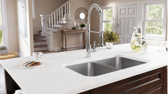 With undermount sinks as popular as ever, MR Direct has many options available to you.