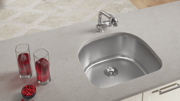 Our USA made sinks are made from premium 300-grade steel, made to last.