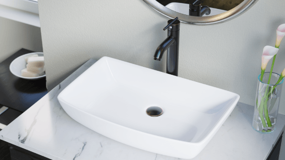 Our vessel sinks offer a range of benefits and features, including fitted accessories
