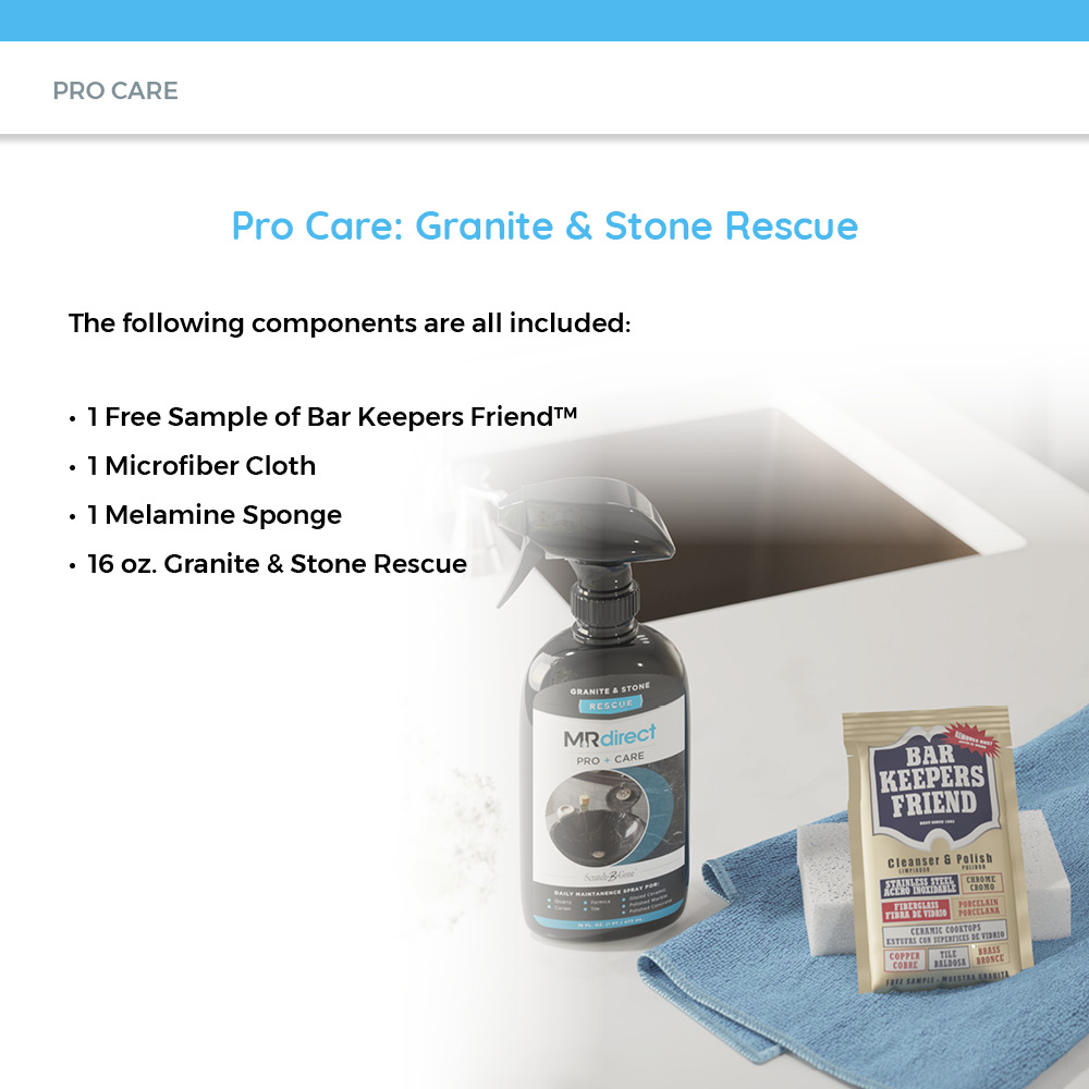 Components in Granite And Stone Cleaning Kit