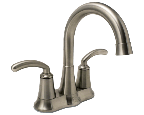 7042 Bn Brushed Nickel Two Handle Lavatory Faucet