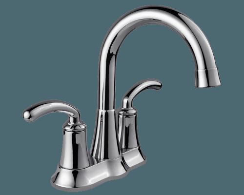 7042 C Chrome Two Handle Lavatory Faucet