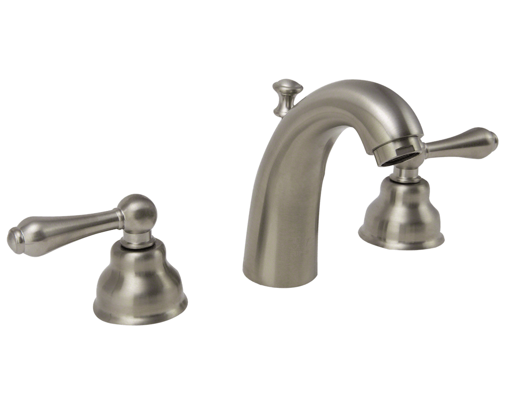 706 Bn Brushed Nickel Wide Spread Lavatory Faucet