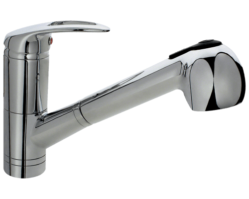 MR Direct 708-C 708-C Chrome Pull Out Faucet
